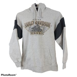 Harley Davidson Denver Colorado Fleece Hoodie - S